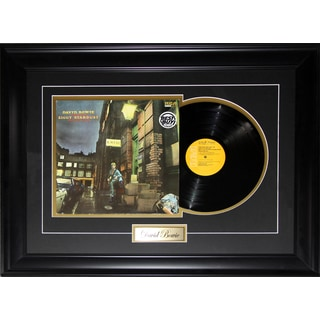 David Bowie Music Album Record Frame