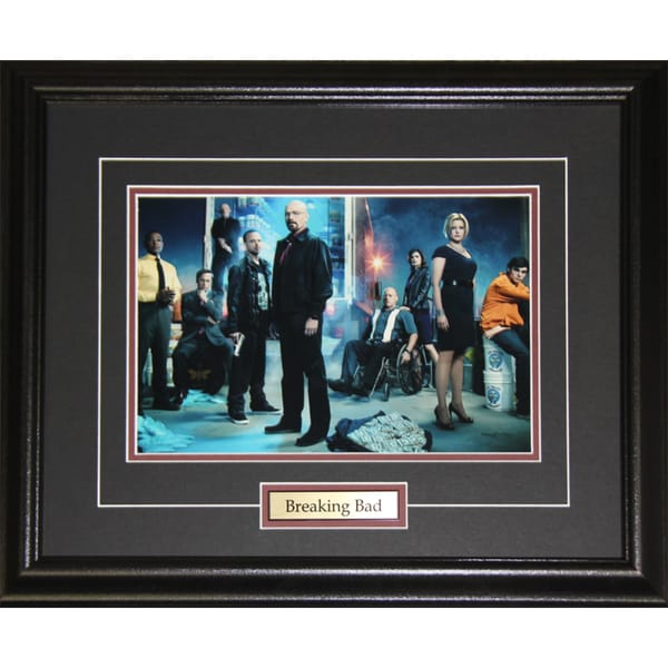 Breaking Bad Tv Cast 8x10-inch Frame