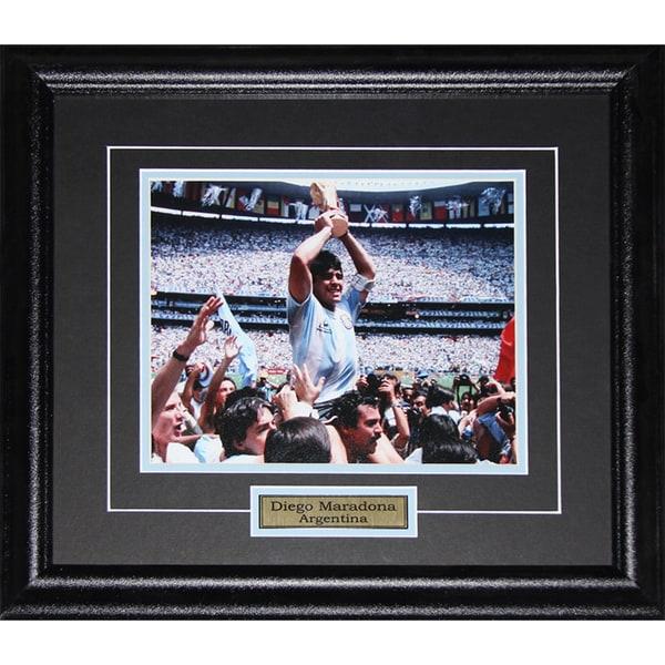 Diego Maradona Team Argentina 8x10-inch Frame 19200414