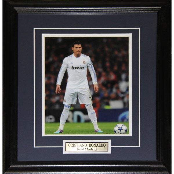 Cristiano Ronaldo Real Madrid 8x10-inch Frame