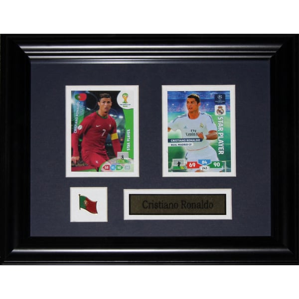 Cristiano Ronald Soccer Fifa 2-card Frame