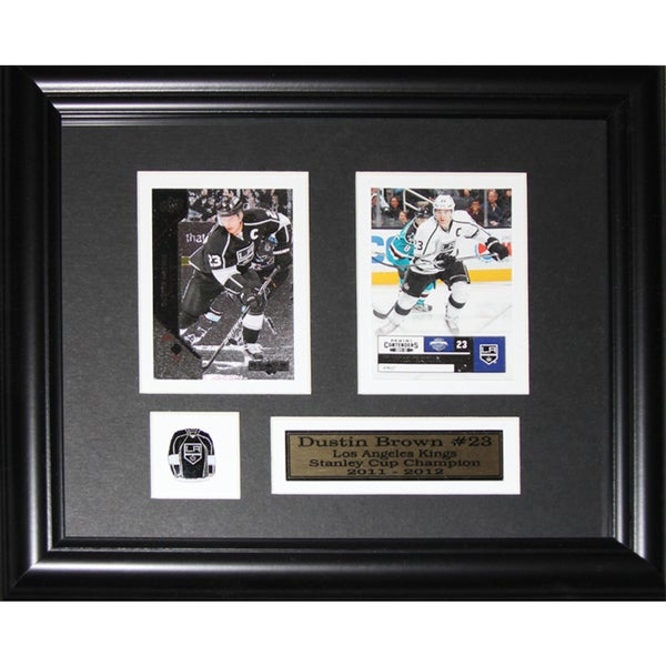 Dustin Brown Los Angeles Kings 2-card Frame 19200472