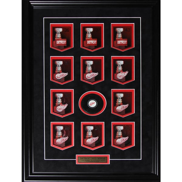 Detroit Red Wings Stanley Cup Panini Cards Frame 19200552