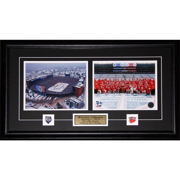 Detroit Red Wings 2014 Winter Classic 2-photo Frame