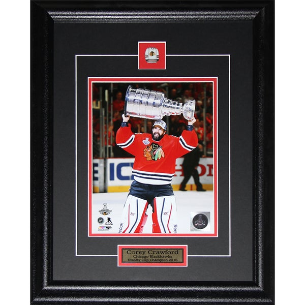 Corey Crawford Chicago Blackhawks 2015 Stanley Cup 8x10-inch Frame