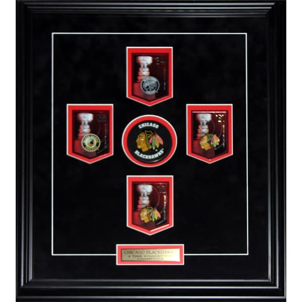 Chicago Blackhawks Stanley Cup Panini Cards Frame 19200633
