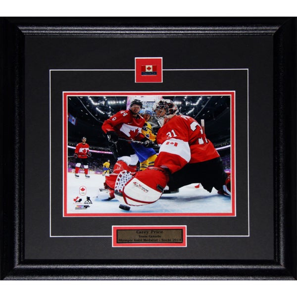 Carey Price 2014 Team Canada Sochi Games 8x10-inch Frame