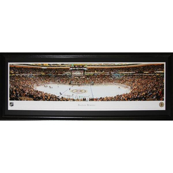 Boston Bruins Td Garden Panorama Frame 19200687