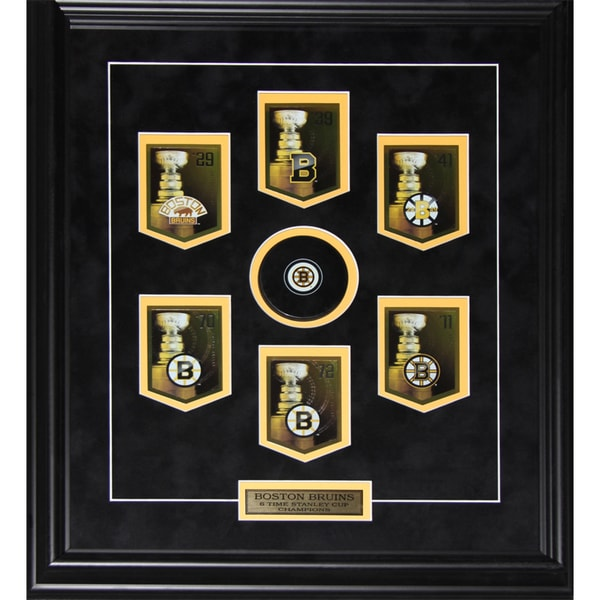 Boston Bruins Stanley Cup Panini Cards Frame 19200690