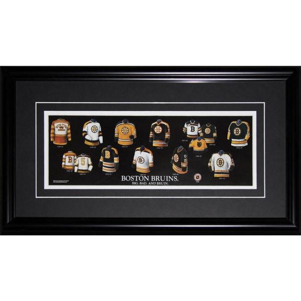Boston Bruins Jersey Evolution Frame 19200691