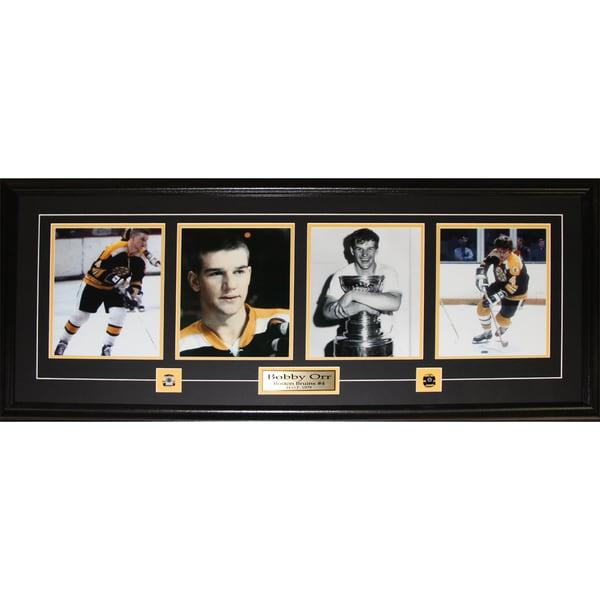 Bobby Orr Boston Bruins Oshawa Generals 4 Photograph Frame 19200712