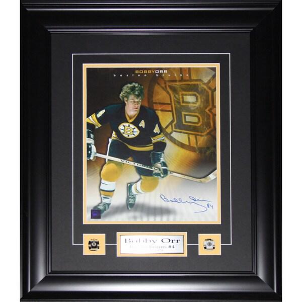 Bobby Orr Boston Bruins Signed 11x14 Frame 19200725