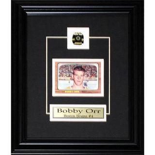 Bobby Orr Boston Bruins Replica Rookie Card Frame 19200732