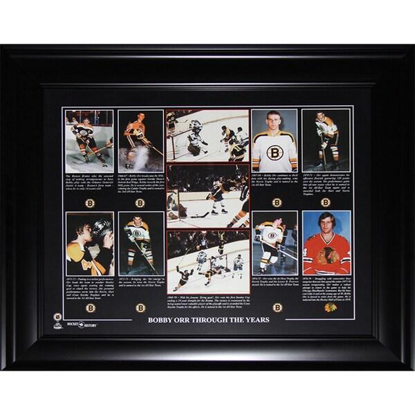 Bobby Orr Boston Bruins 16x20-inch Compilation Frame 19200733