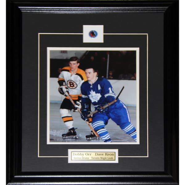 Bobby Orr and Dave Keon 8x10-inch Frame 19200734