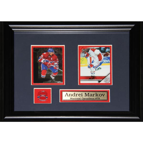 Andrei Markov Montreal Canadiens 2-card Frame