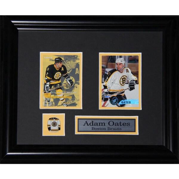 Adam Oates Boston Bruins 2-card Frame 19200773