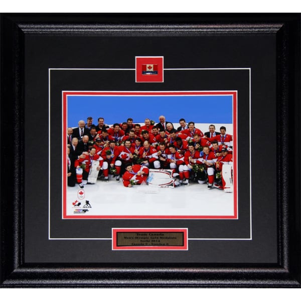 2014 Team Canada Men's Hockey Gold Medal 8x10-inch Frame