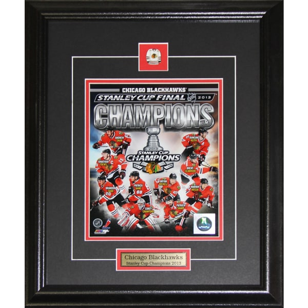 2013 Chicago Blackhawks Stanley Cup Compilation 8x10-inch Frame 19200800