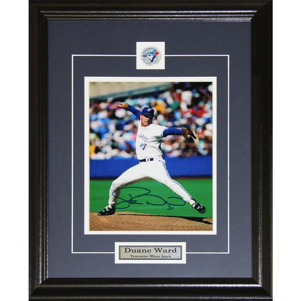 Duane Ward Toronto Blue Jays Signed 8x10-inch Frame