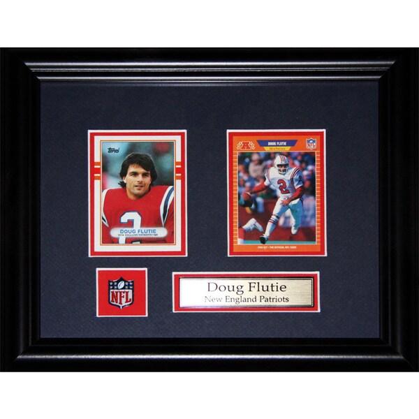 Doug Flutie New England Patriots Nfl 2-card Frame 19200870