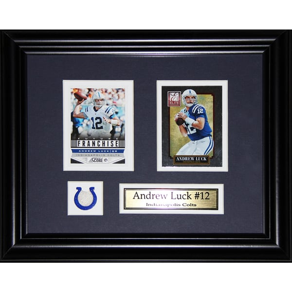 Andrew Luck Indianapolis Colts 2-card Frame 19200909