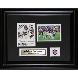 Adrian Peterson Minnesota Vikings 2-card Frame