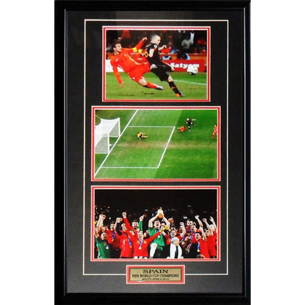 Team Spain 2010 World Cup Charles Iniesta Goal 3 Photo Frame 19200983
