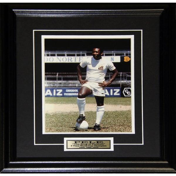 Pele Soccer Football 8x10-inch Frame