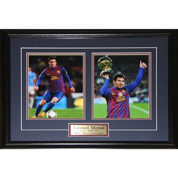 Lionel Messi Barcelona Fc Soccer 2-photo Frame 19200994