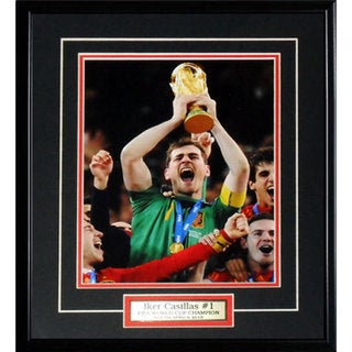Iker Casillas 2010 Spain 8x10-inch Frame 19200998