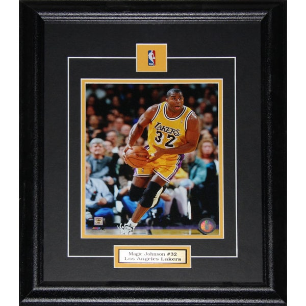 Magic Johnson Los Angeles Lakers 8x10-inch Frame