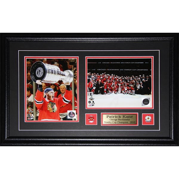 Patrick Kane Chicago Blackhawks 2015 Stanley Cup 2-photo Frame 19201035