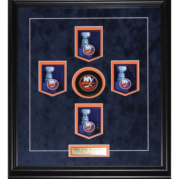 New York Islanders Stanley Cup Panini Cards Frame 19201064