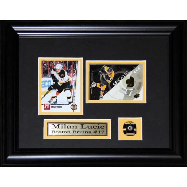 Milan Lucic Boston Bruins 2-card Frame 19201084