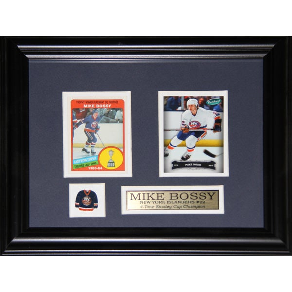 Mike Bossy New York Islanders 2-card Frame 19201117