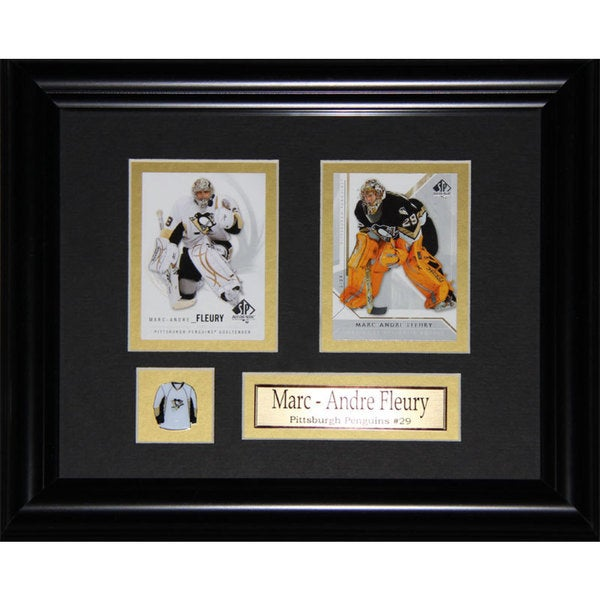 Marc-andre Fleury Pittsburgh Penguins 2-card Frame 19201174
