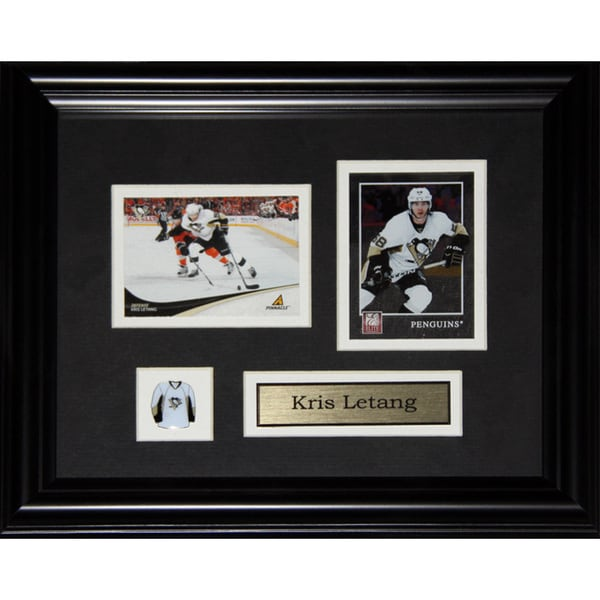 Kris Letang Pittsburgh Penguins 2-card Frame 19201195