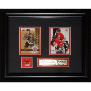 Jonathan Toews Chicago Blackhawks 2-card Frame 19201213