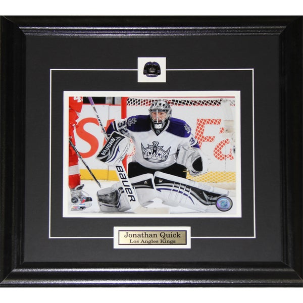 Jonathan Quick Los Angeles Kings Stanley Cup 8x10-inch Frame 19201219