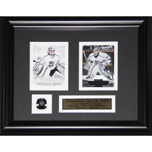 Jonathan Quick Los Angeles Kings 2-card Frame 19201223
