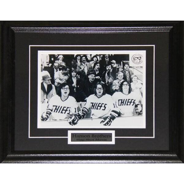 Hanson Brothers Slap Shot 8x10-inch Frame