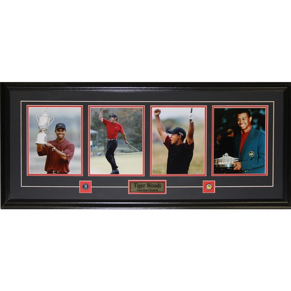Tiger Woods Grand 4 Photograph Frame