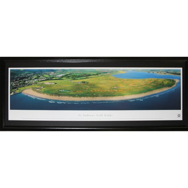 St. Andrews Golf Links Pga Panorama Frame