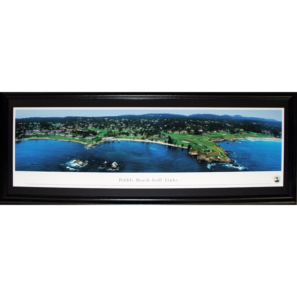 Pebble Beach Golf Links Pga Panorama Frame