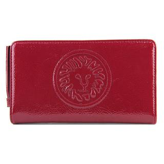 Anne Klein Women's Leo Legacy Red Leather Wallet