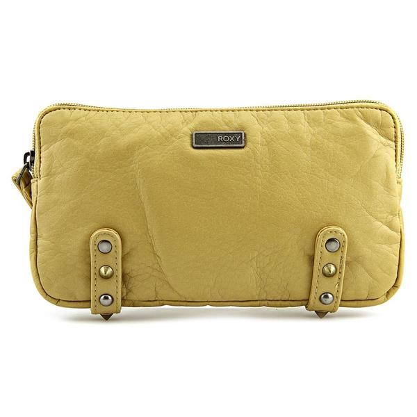 Roxy Women's 'Going Pro' Yellow Faux Leather Handbag
