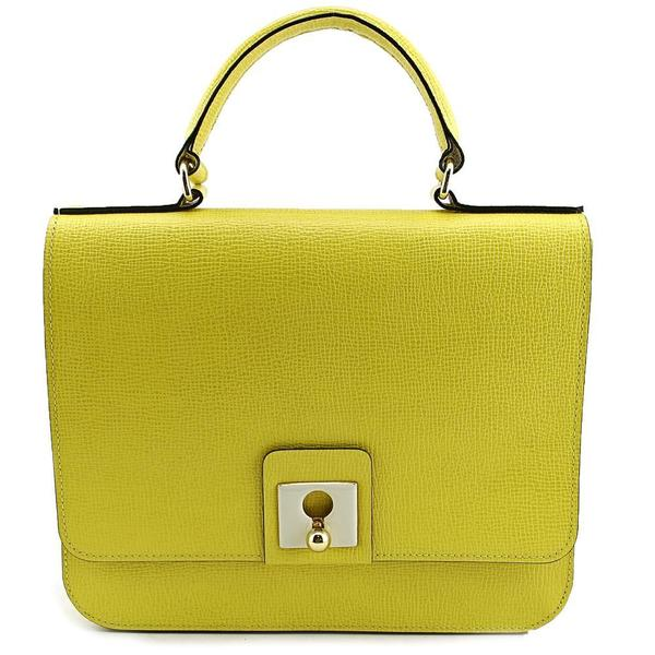 Orla Kiely Women's Ivy Satchel Leather Handbag