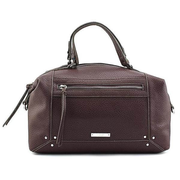 Nine West Women's New Frontier Satchel Faux Leather Handbag