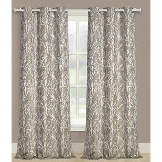 Taylor Polyester Woven Grommet Panel Pair